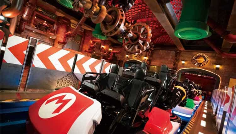 Mario Kart ride at upcoming Super Nintendo World in Japan