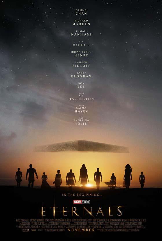 Marvel Eternals movie poster