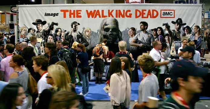 Walking Dead Convention Fandemic Dead