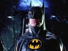 Michael Keaton teases first shot of Batman in The Flash movie is great