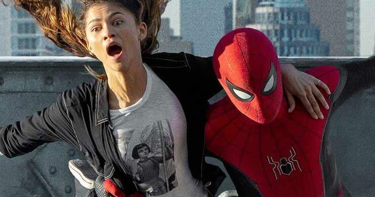 New Spider-Man image with Zendaya